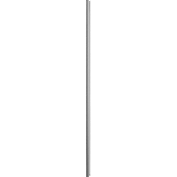 Магнитный профиль Cezares пристенный, хром (VE-W-WLM-Cr)