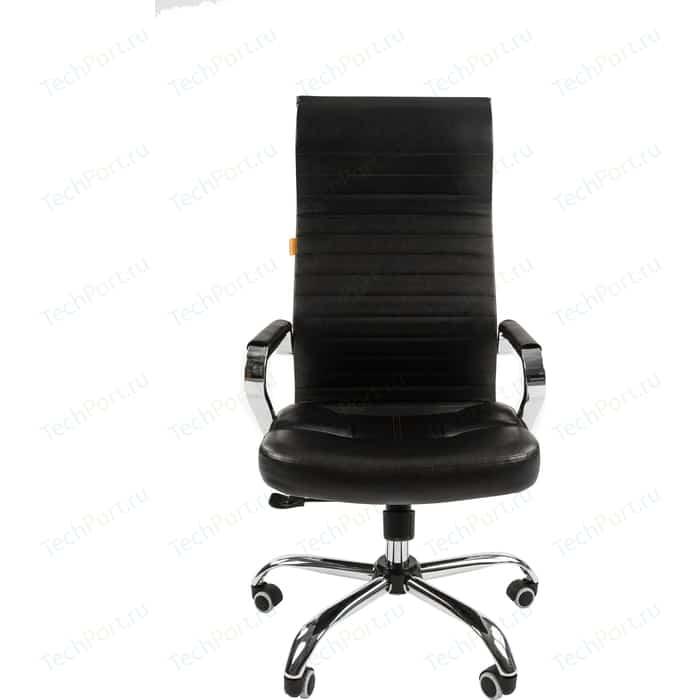 Офисное кресло Chairman 700 экопремиум черный