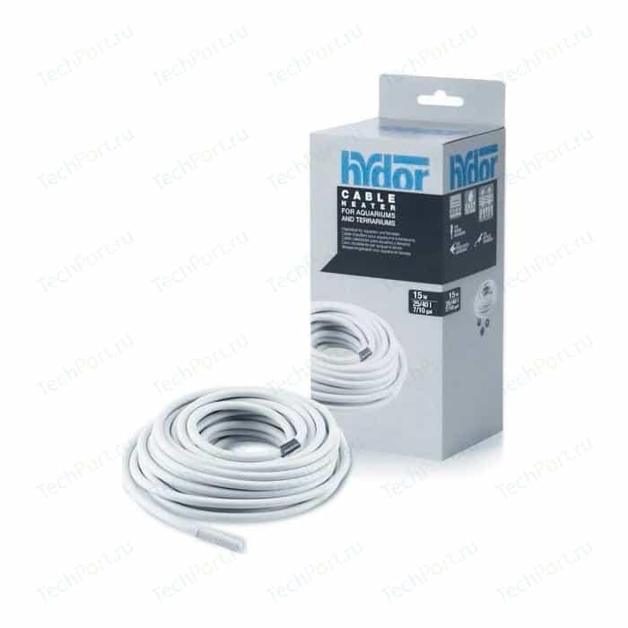 Гидрокабель Hydor Cable Heater HydroCable 15Вт 3,3м нагревательный для аквариумов и террариумов 25-40л
