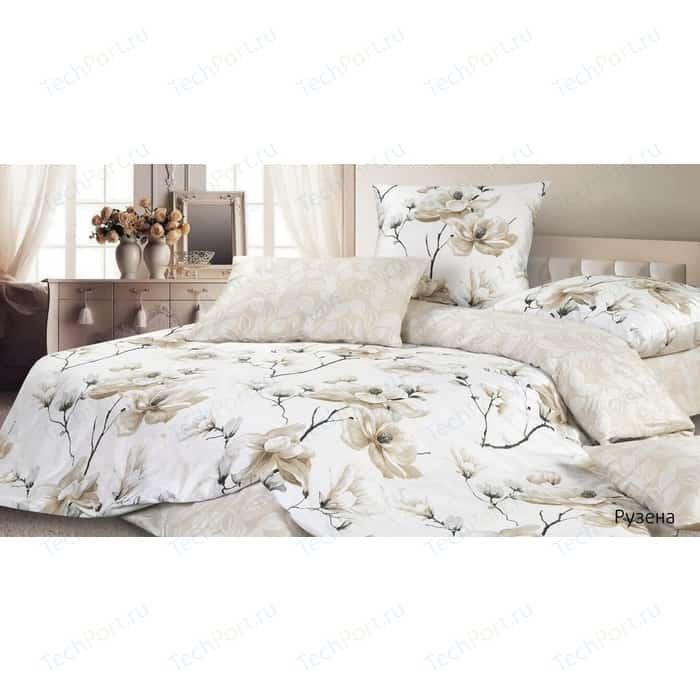Комплект постельного белья Ecotex Евро, сатин, Рузена (4680017866736)