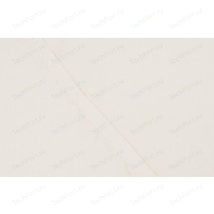 Простыня Ecotex на резинке поплин 160х200х20 ванильная (4607132579983)