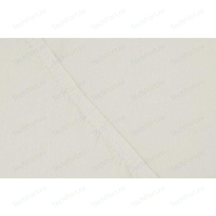 Простыня Ecotex на резинке трикотажная 90х200х20 молочная (4670016952080)