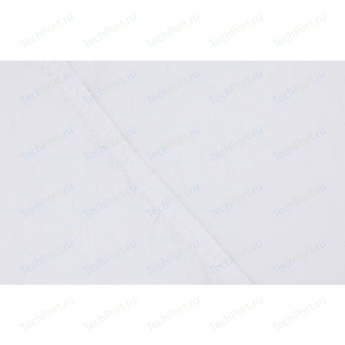 Простыня Ecotex на резинке трикотажная 160х200х20 белая (4670016951953)