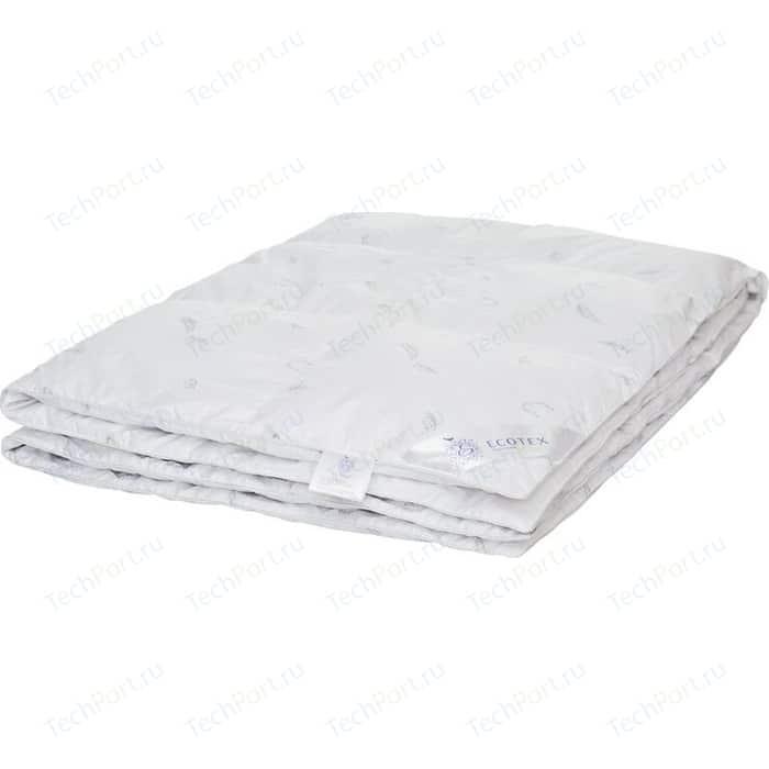 Двуспальное одеяло Ecotex пуховое кассетное 172х205 (4680017867757)