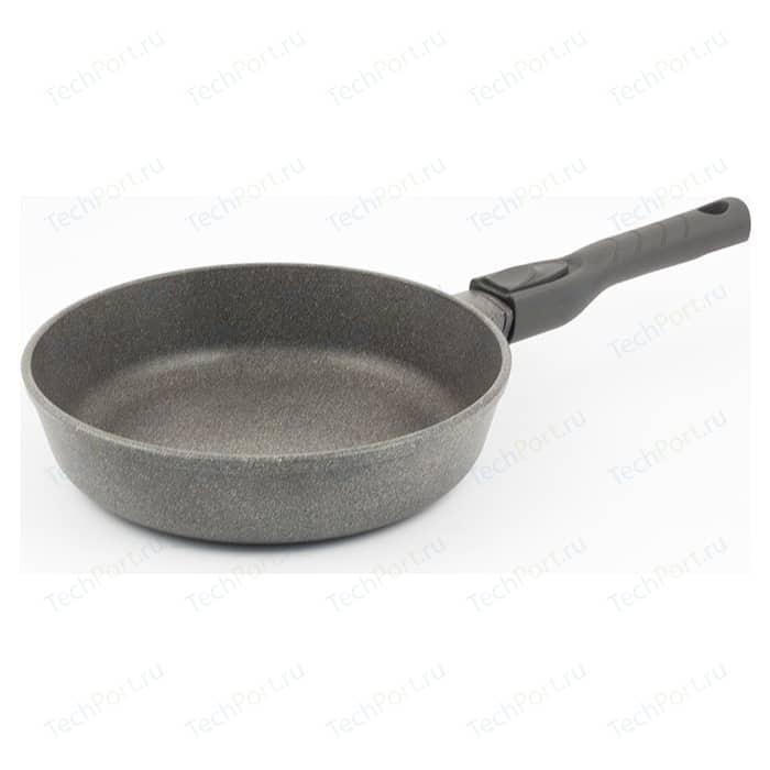 Сковорода со съемной ручкой TimA d 26см Паприка (26109П) сковорода d 24 см kukmara кофейный мрамор смки240а