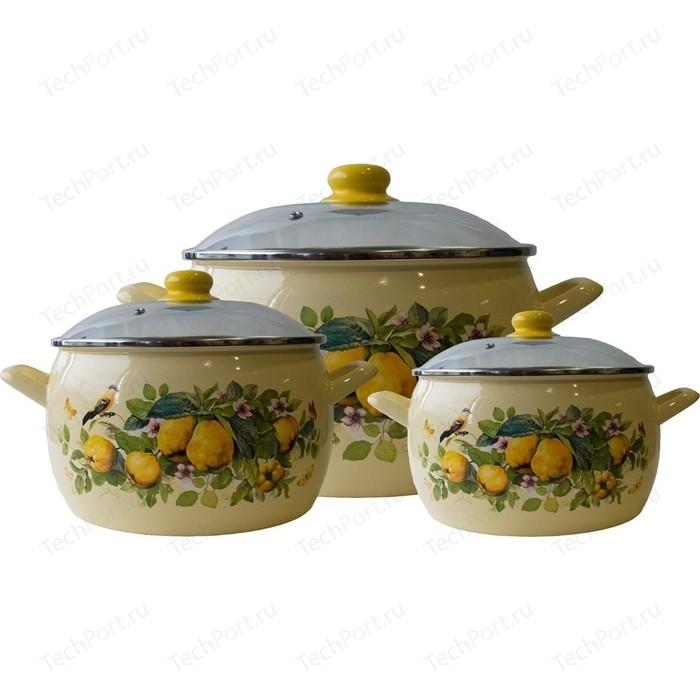 Набор эмалированной посуды 6 предметов Metrot Айва (183297)