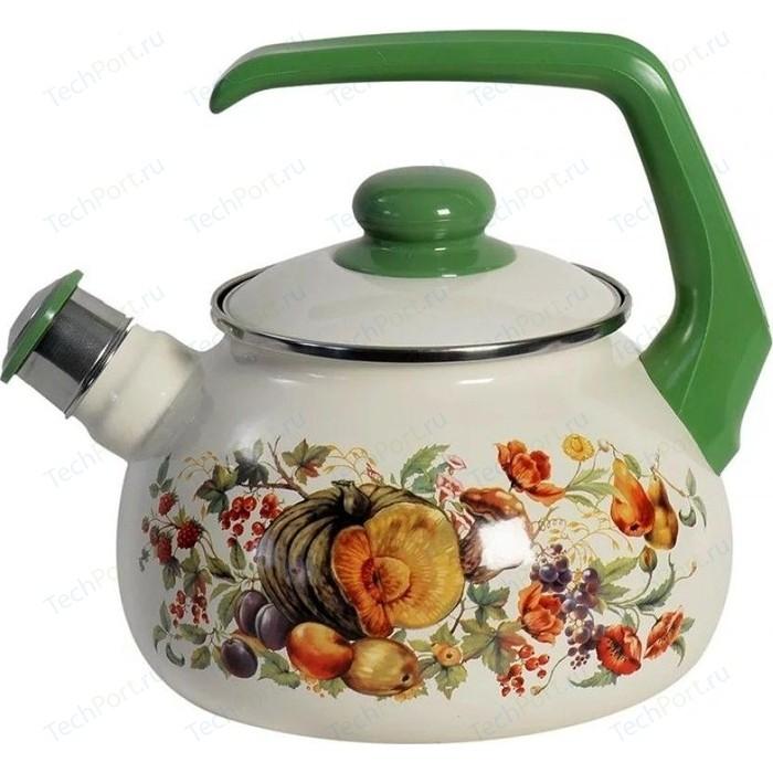Чайник эмалированная 2.5 л Metrot Тыква (183030)