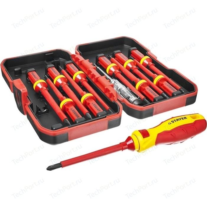 Набор инструментов диэлектрических Stayer Profi 13 предметов (25146-H13)