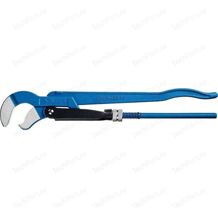 Ключ трубный рычажный Зубр Профессионал тип S, № 2, 1,5 (27336-2_z01)
