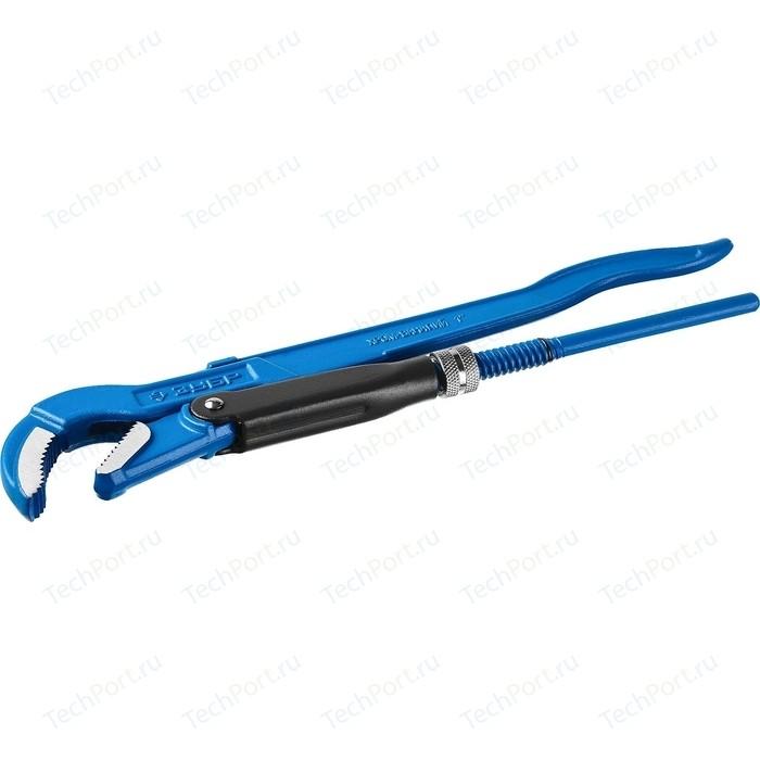 Ключ трубный рычажный Зубр Профессионал № 1, 1 (27337-1_z01)
