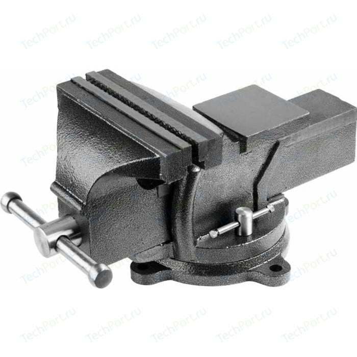 Тиски слесарные поворотные Stayer 200мм (3254-200)