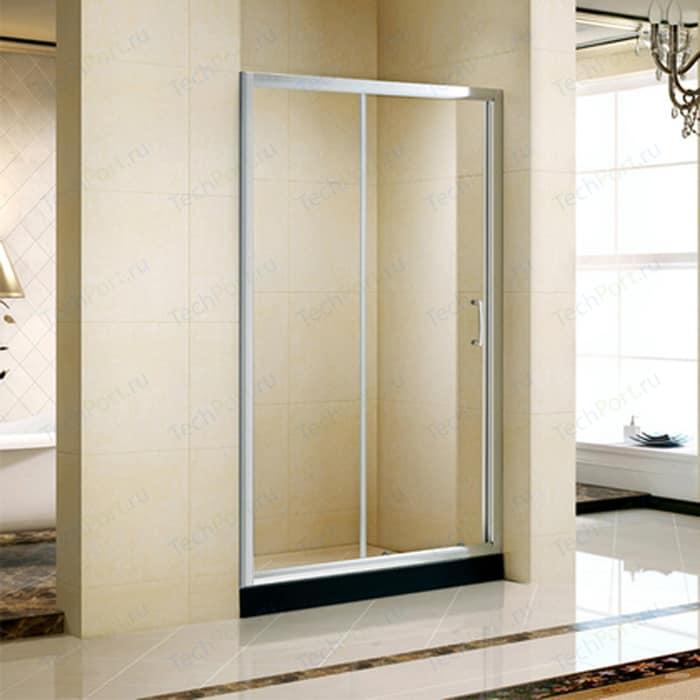 Душевая дверь Alvaro Banos Tarrangona 120 прозрачная, хром (TARRAGONA D120.10 Cromo)