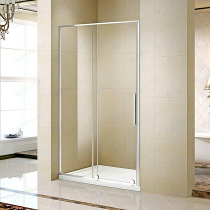 Душевая дверь Alvaro Banos Toledo 120 прозрачная, хром (Toledo D120.10 Cromo)