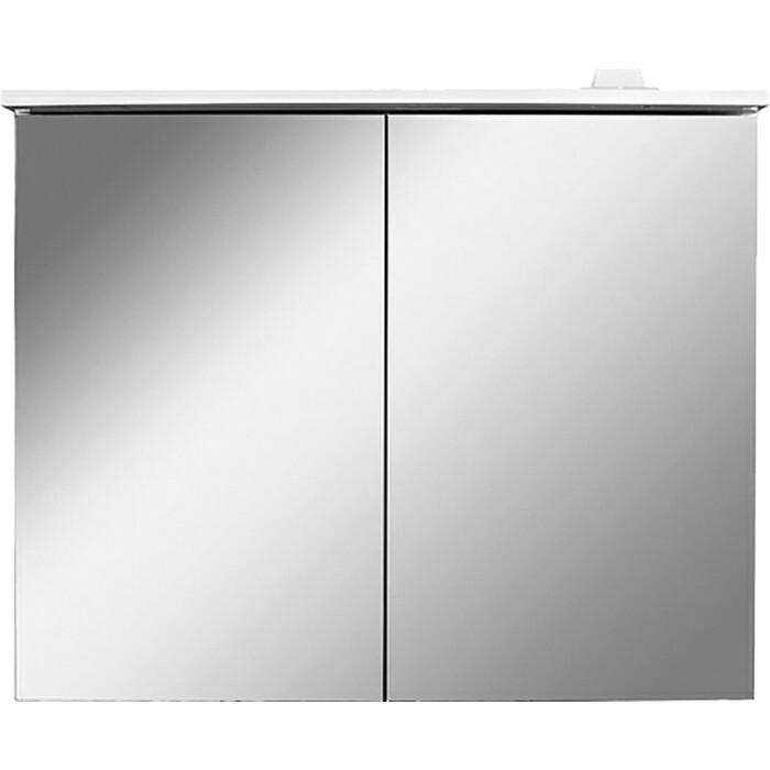 Зеркальный шкаф Am.Pm Spirit 2.0 80 с подсветкой, белый (M70AMCX0801WG) зеркальный шкаф am pm sensation 80 правый с подсветкой белый глянец m30mcr0801wg