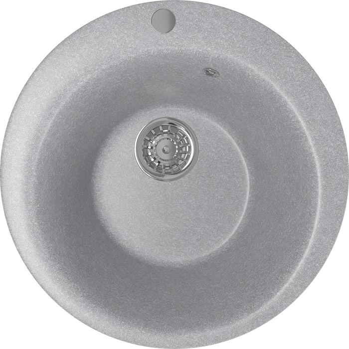 Кухонная мойка Mixline ML-GM13 49,5х49,5 графит 342 (4620031445517)
