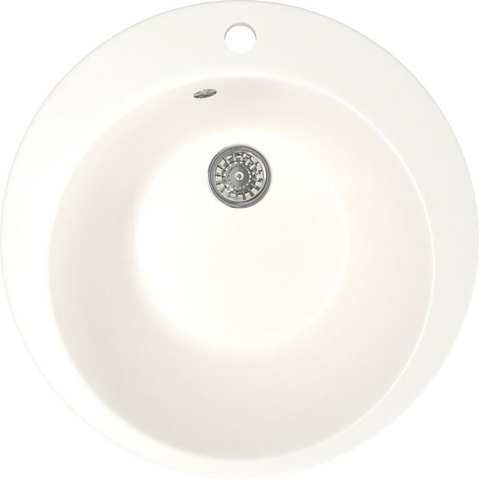Кухонная мойка Mixline ML-GM13 49,5х49,5 молоко 341 (4620031442578)