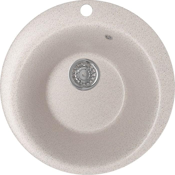 Кухонная мойка Mixline ML-GM13 49,5х49,5 песочный 302 (4630030633259)