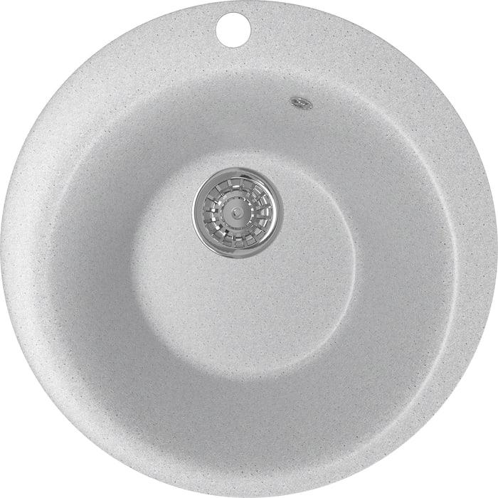 Кухонная мойка Mixline ML-GM13 49,5х49,5 серый 310 (4630030633280)
