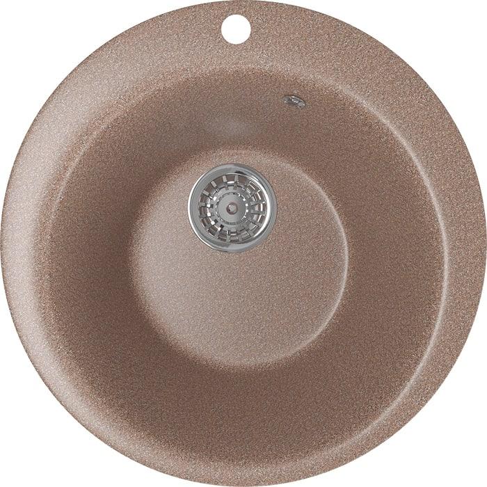 Кухонная мойка Mixline ML-GM13 49,5х49,5 терракотовый 307 (4630030633402)