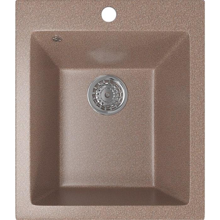Кухонная мойка Mixline ML-GM14 42х49,5 терракотовый 307 (4630030633648)