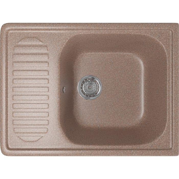 Кухонная мойка Mixline ML-GM18 64x49 терракотовый 307 (4630030634607)