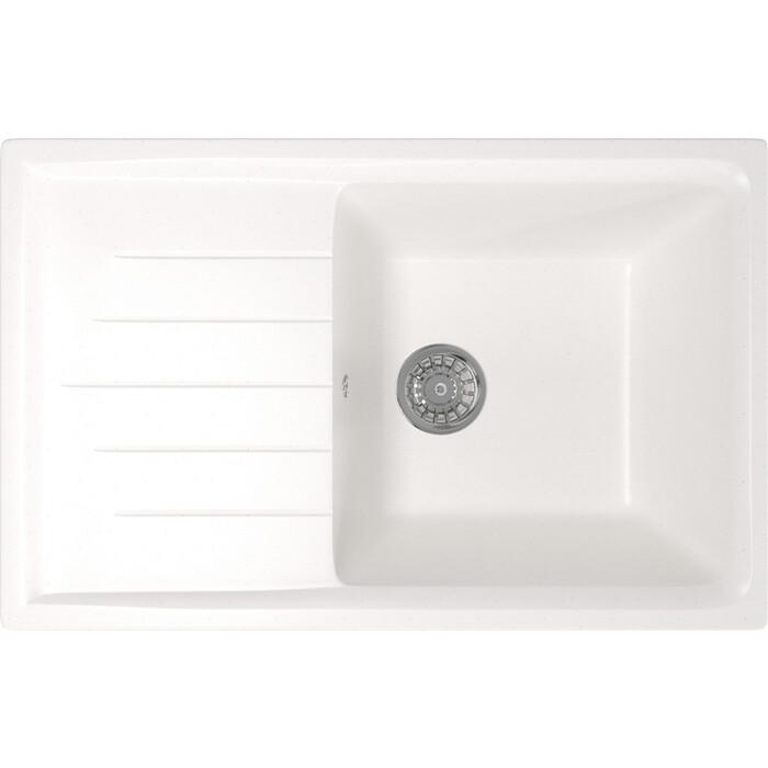Кухонная мойка Mixline ML-GM19 49,5х75 белый 331 (4630030634904)