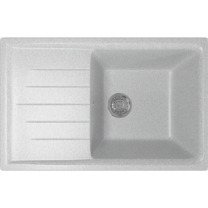 Кухонная мойка Mixline ML-GM19 49,5х75 серый 310 (4630030634720)