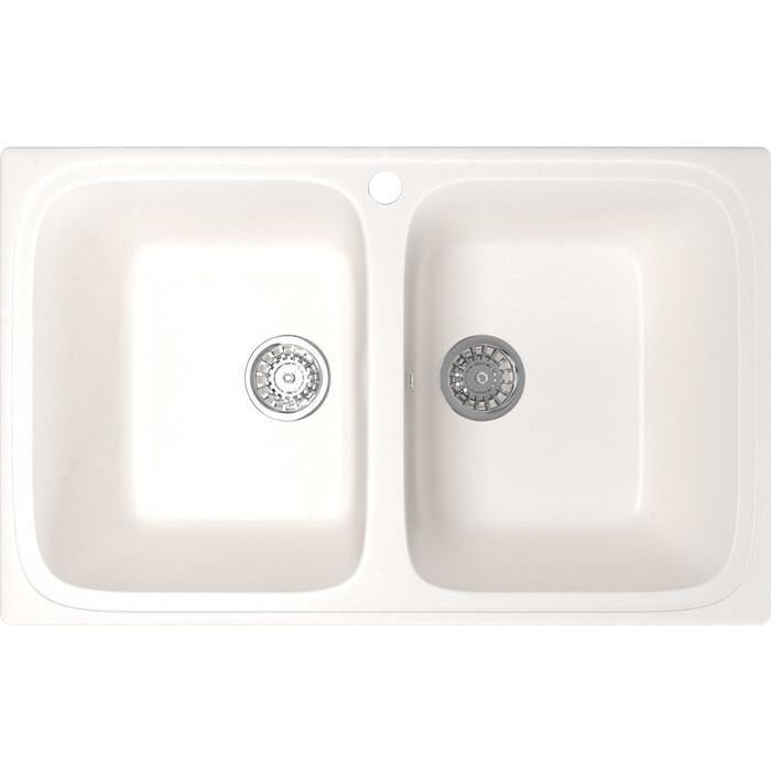 Кухонная мойка Mixline ML-GM23 77,5x49,5 молоко 341 (4620031442875)