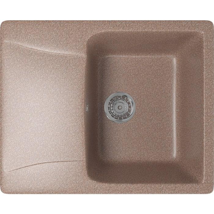 Кухонная мойка Mixline ML-GM26 58x47 терракотовый 307 (4630030636526)