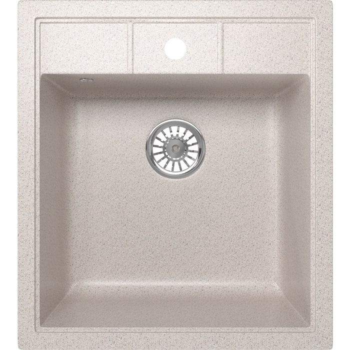Кухонная мойка Mixline ML-GM28 44,5х50 песочный 302 (4620031446620)
