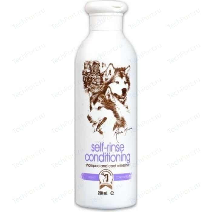 Шампунь 1 All Systems Self-rinse Conditioning Shampoo and Coat Refresher без смывания для кожи и шерсти кошек собак 250мл