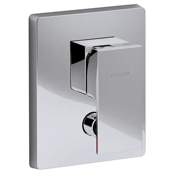 Смеситель для ванны Jacob Delafon Strayt встраиваемый, механизма 98699D, хром (E98633-CP)