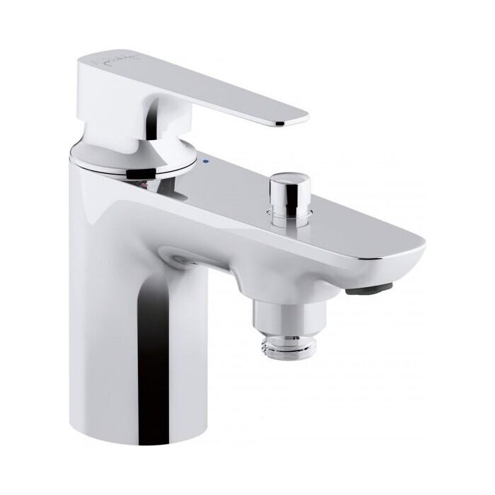 Смеситель на борт ванны Jacob Delafon Aleo+ 1 отверстие, хром (E72321-CP)