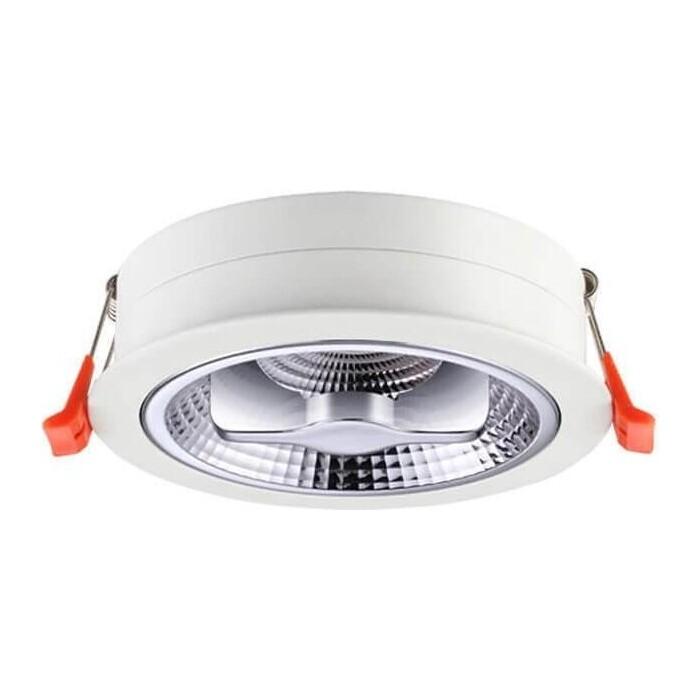 Встраиваемый светодиодный светильник Novotech 357568 встраиваемый светильник novotech snail 357568