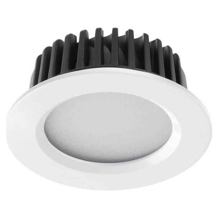 Встраиваемый светодиодный светильник Novotech 357600 встраиваемый светильник novotech snail 357568