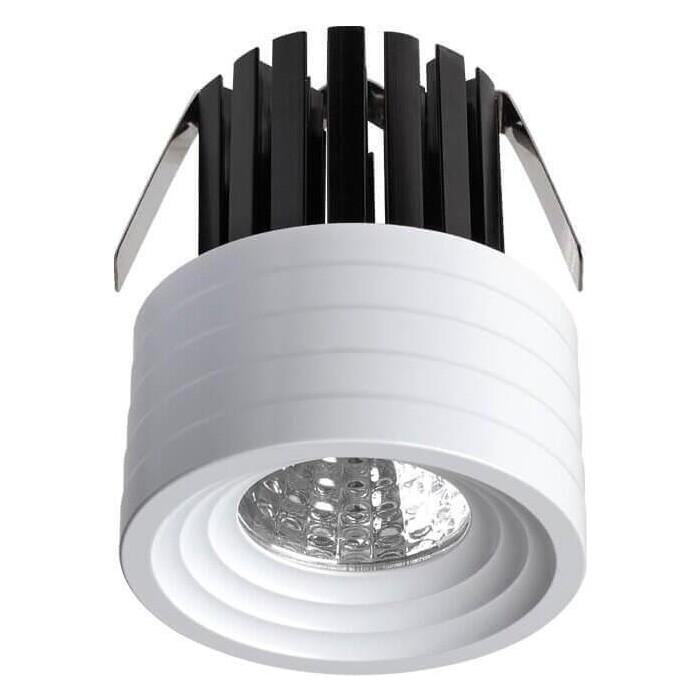Встраиваемый светодиодный светильник Novotech 357699 встраиваемый светильник novotech snail 357568