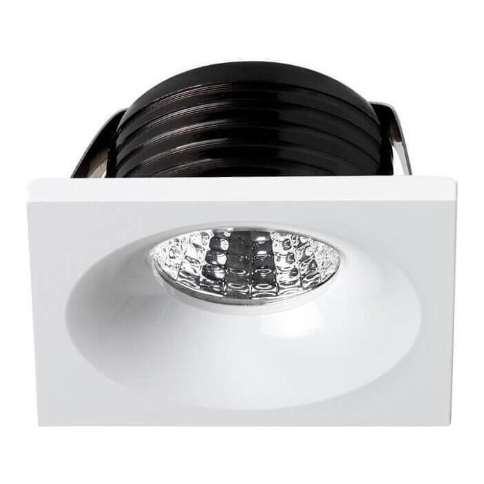 Встраиваемый светодиодный светильник Novotech 357701 встраиваемый светильник novotech 370643