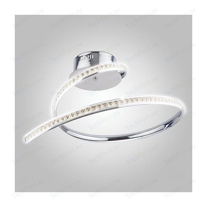 Потолочный светодиодный светильник Eurosvet 90045/1 хром