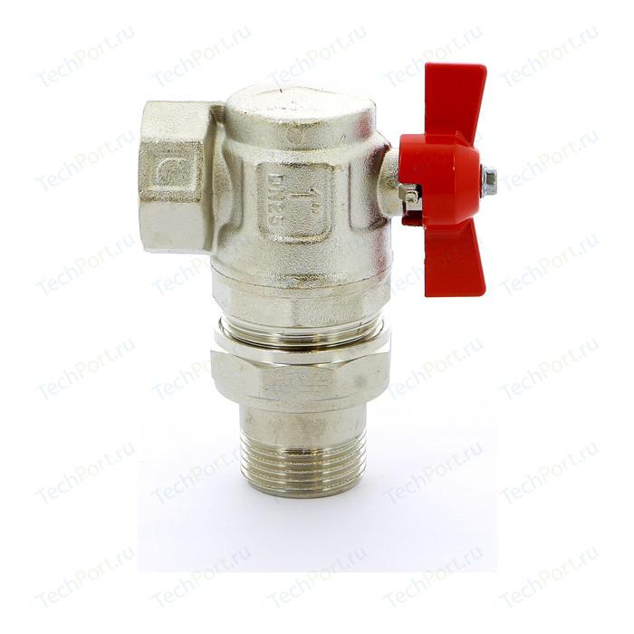 Кран шаровый ITAP IDEAL угловой 1 НР/ВР с разъемным соединением (298 1)