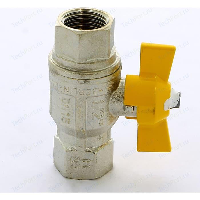 Кран шаровый ITAP BERLIN газовый 1/2 ВР (072 1/2)