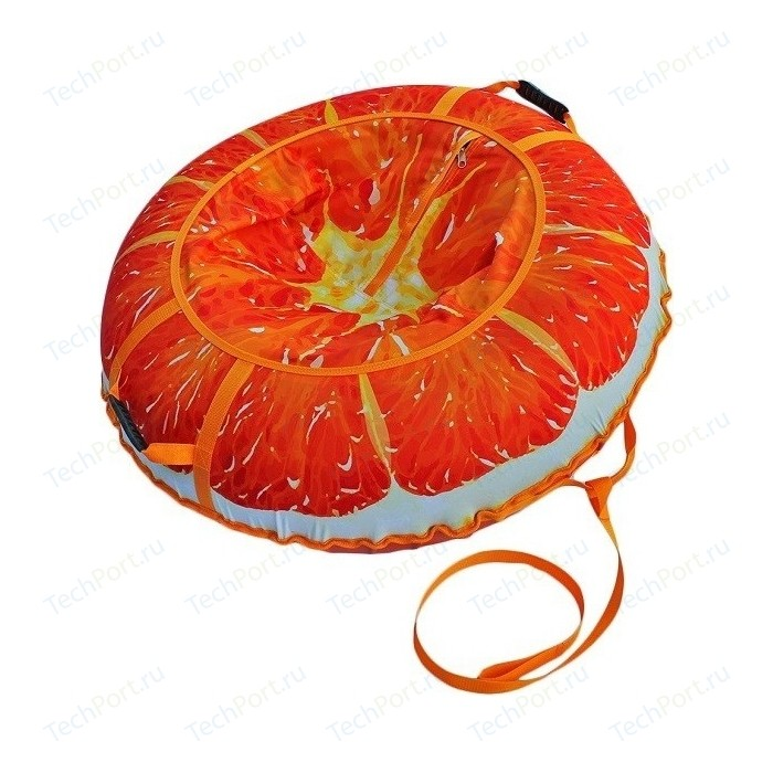 Тюбинг Митек 110 см Сочный апельсин