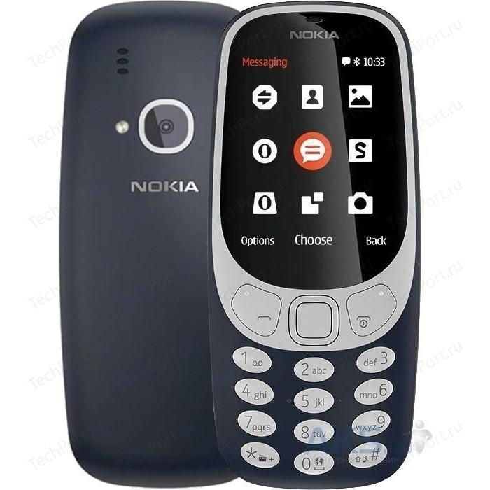 Мобильный телефон Nokia 3310 DS Blue
