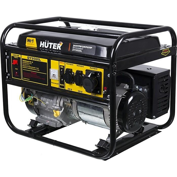 Генератор бензиновый Huter DY9500L генератор huter dy2500l