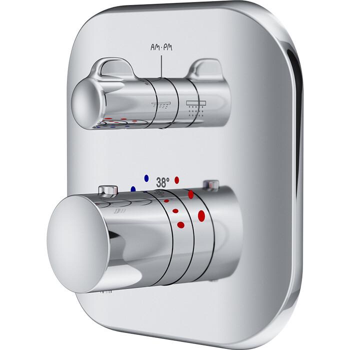 Термостат для ванны Am.Pm Sensation встраиваемый, механизма F100100, хром (F3085500)