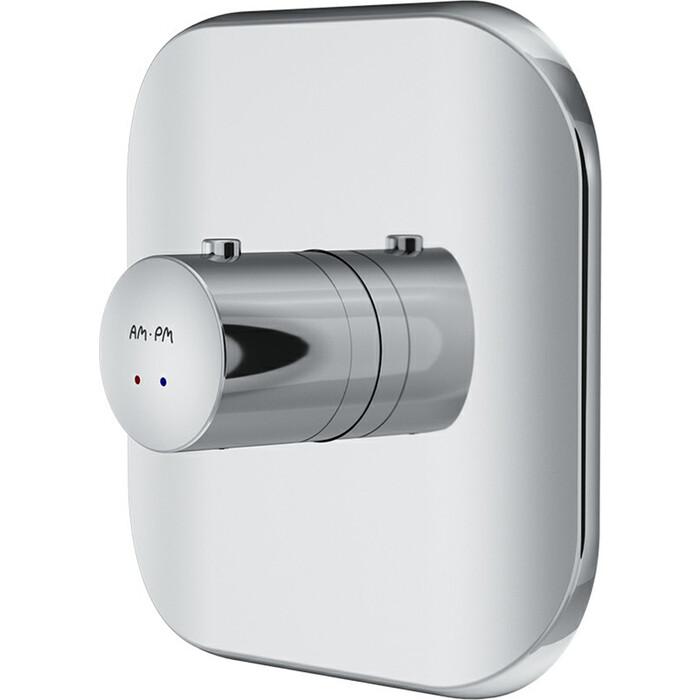 Термостат для ванны Am.Pm Sensation встраиваемый, механизма F100100, хром (F3075500)