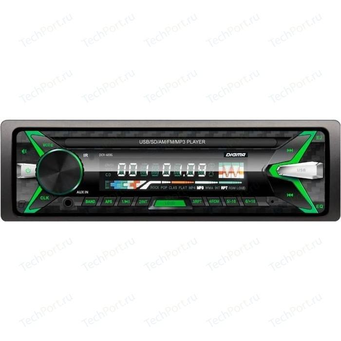 Автомагнитола Digma DCR-400G