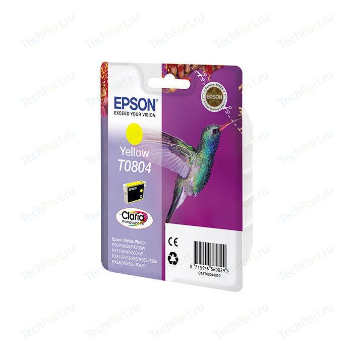 Картридж Epson T0804 Yellow (C13T08044011)