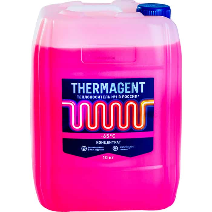 Теплоноситель Thermagent концетрат -65° С 10 кг