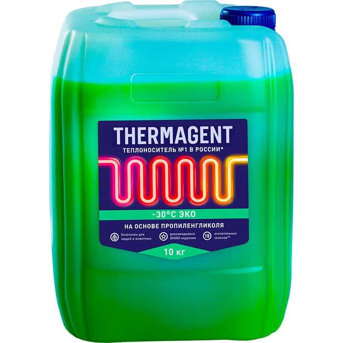 Теплоноситель Thermagent -30° С ЭКО 10 кг