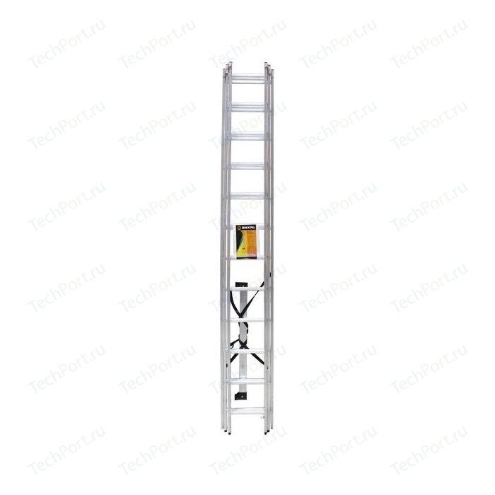 Лестница трехсекционная Вихрь ЛА 3х12